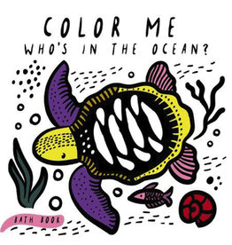Wee Gallery Wee Gallery Color Me Who's In the Ocean Bath Book