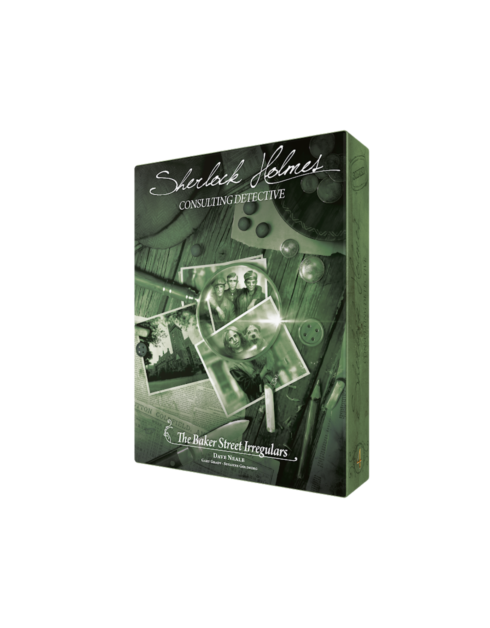 Space Cowboys Sherlock Holmes Consulting Detective: The Baker Street Irregulars
