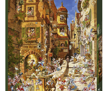 By Day 1000pc Puzzle