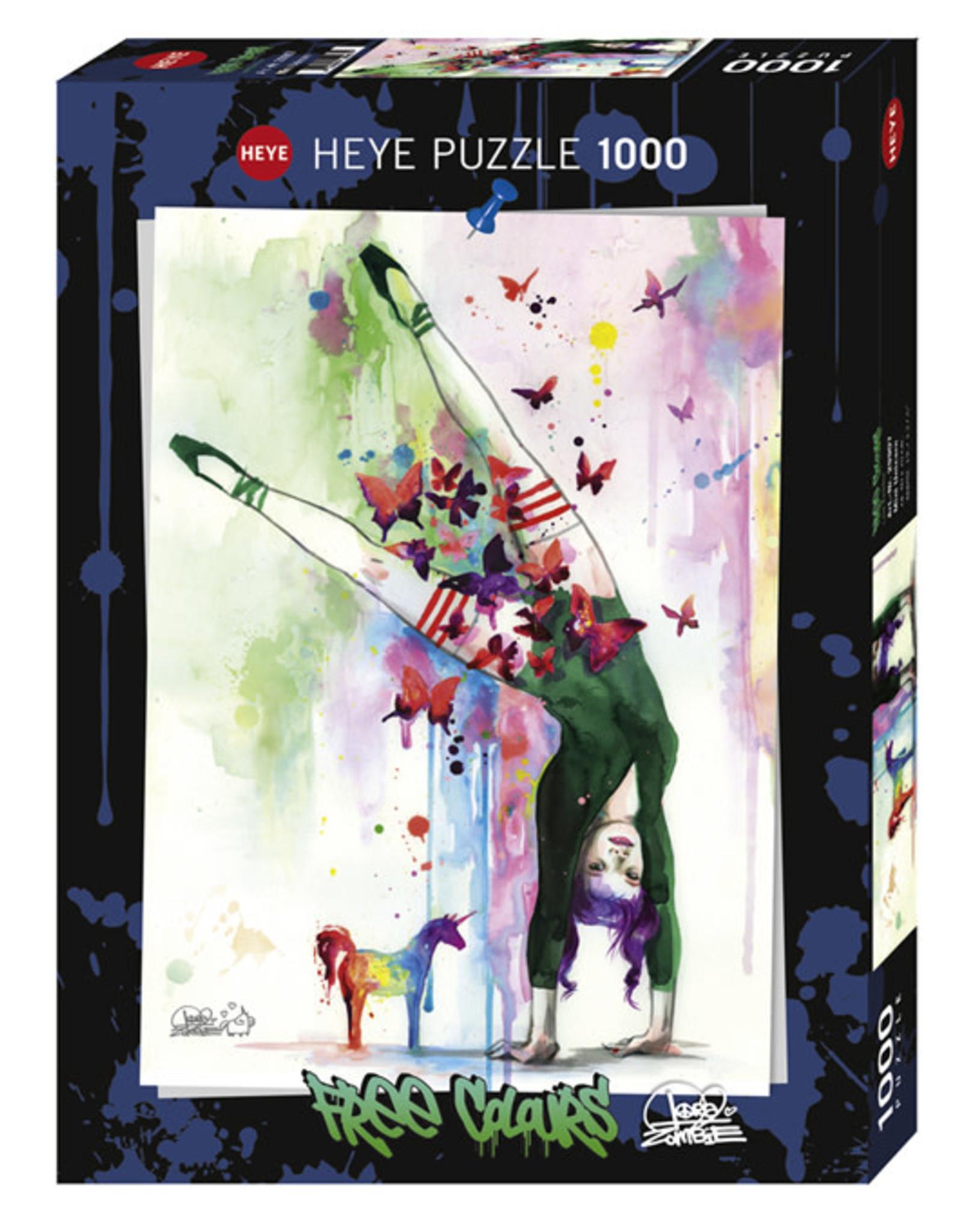 Heye Mini Unicorn 1000pc Puzzle