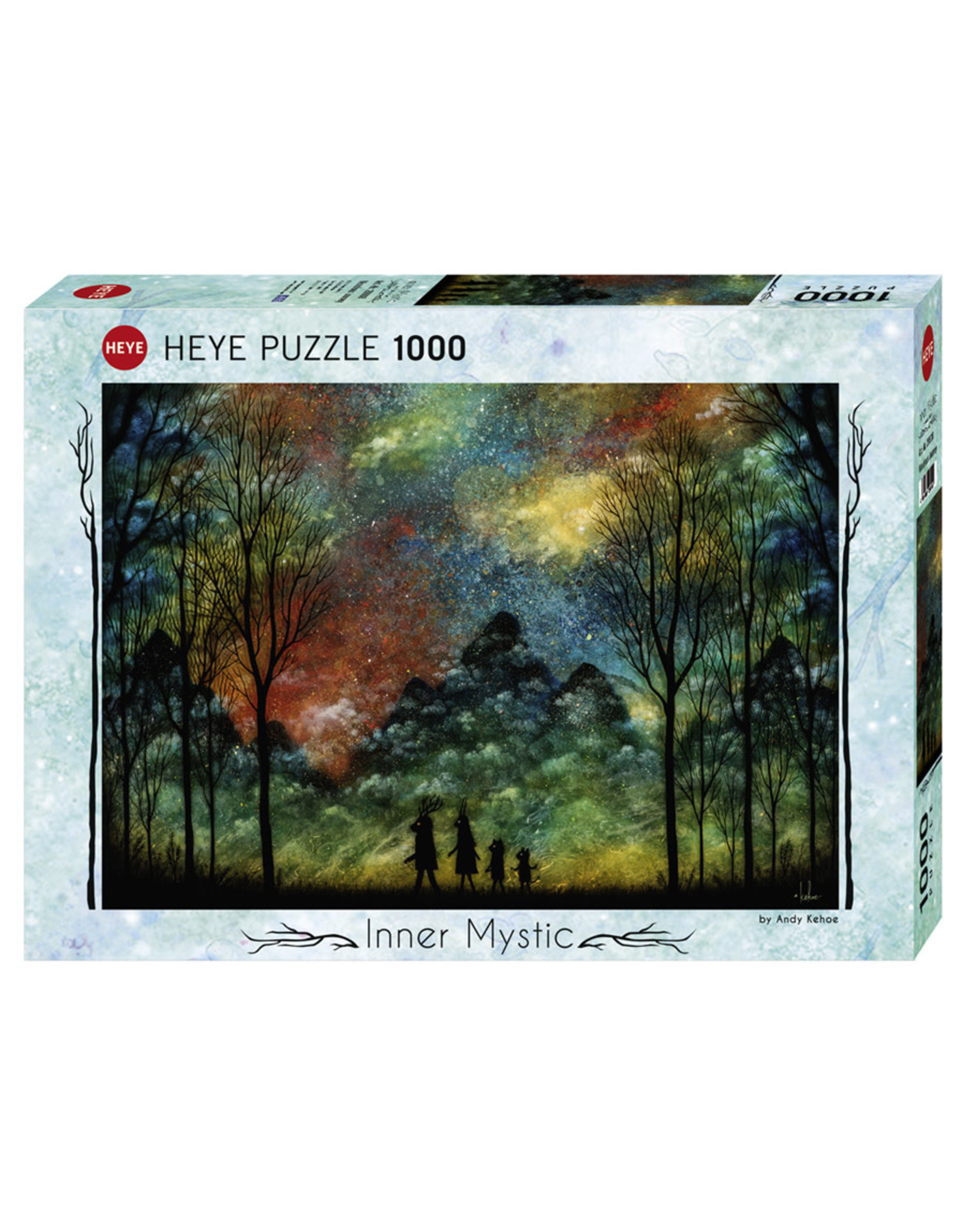Heye Wondrous Journey 1000pc Puzzle