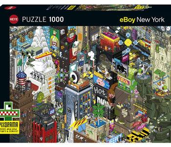 New York Quest 1000pc Puzzle