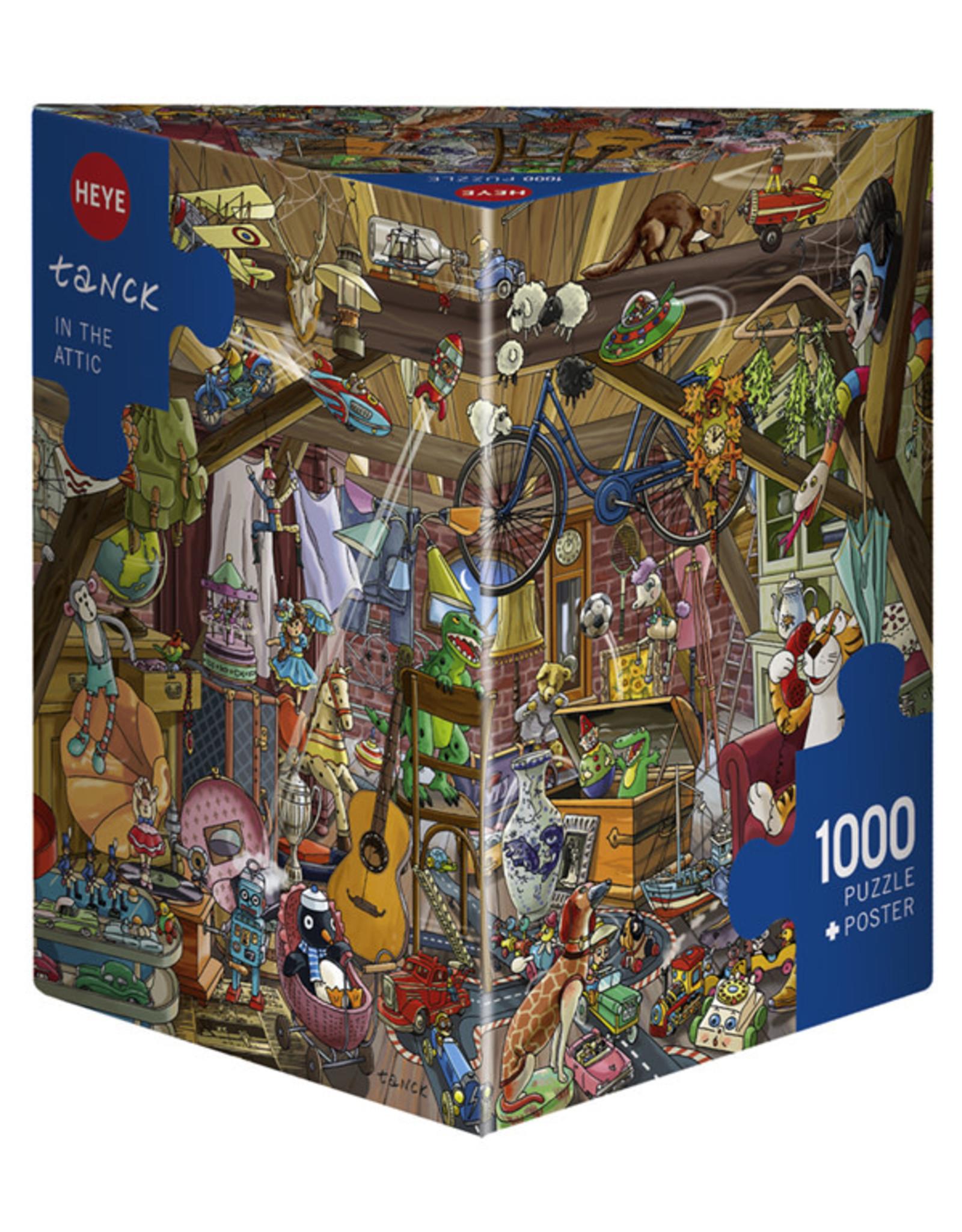 Heye In The Attic 1000pc Puzzle