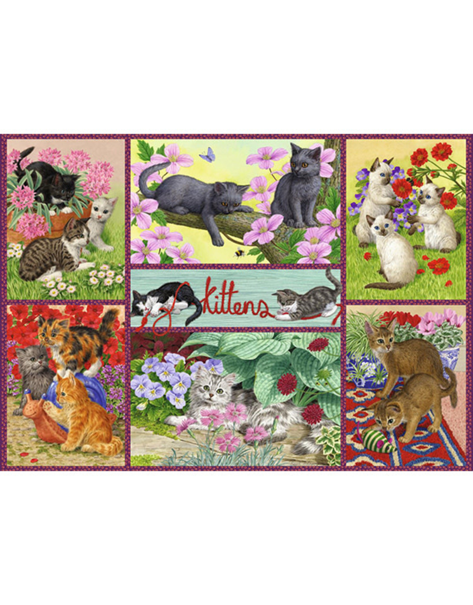 Falcon Playful Kittens 500pc Puzzle