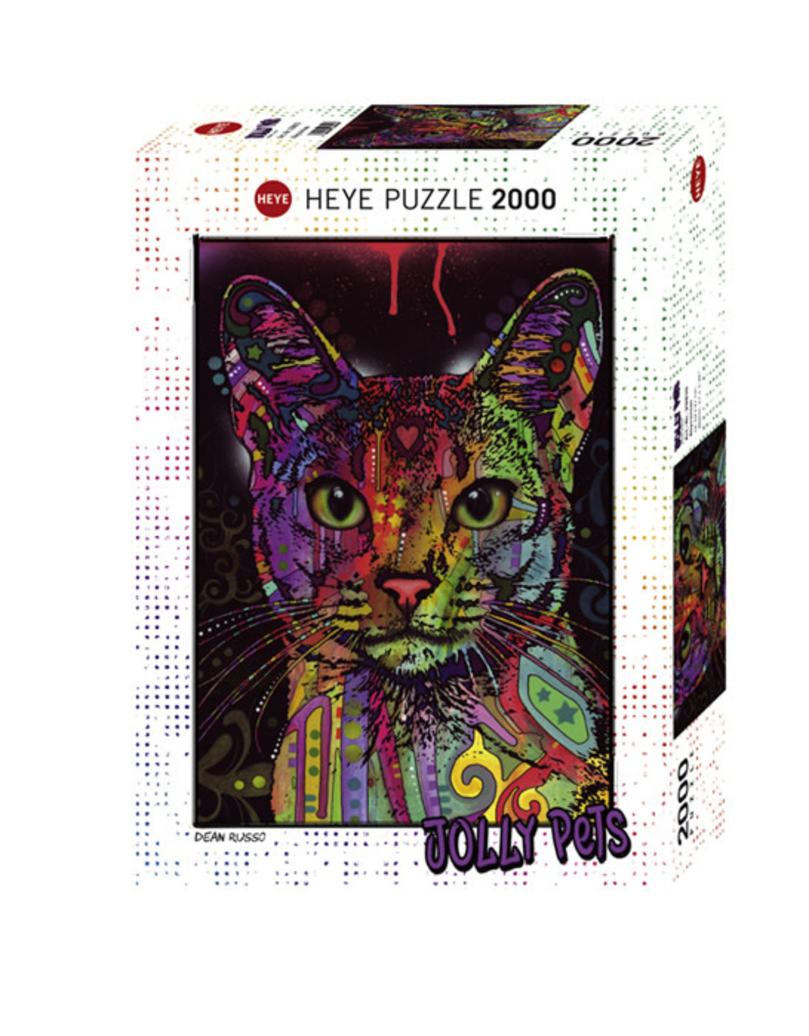Heye Abyssinian 2000pc Puzzle