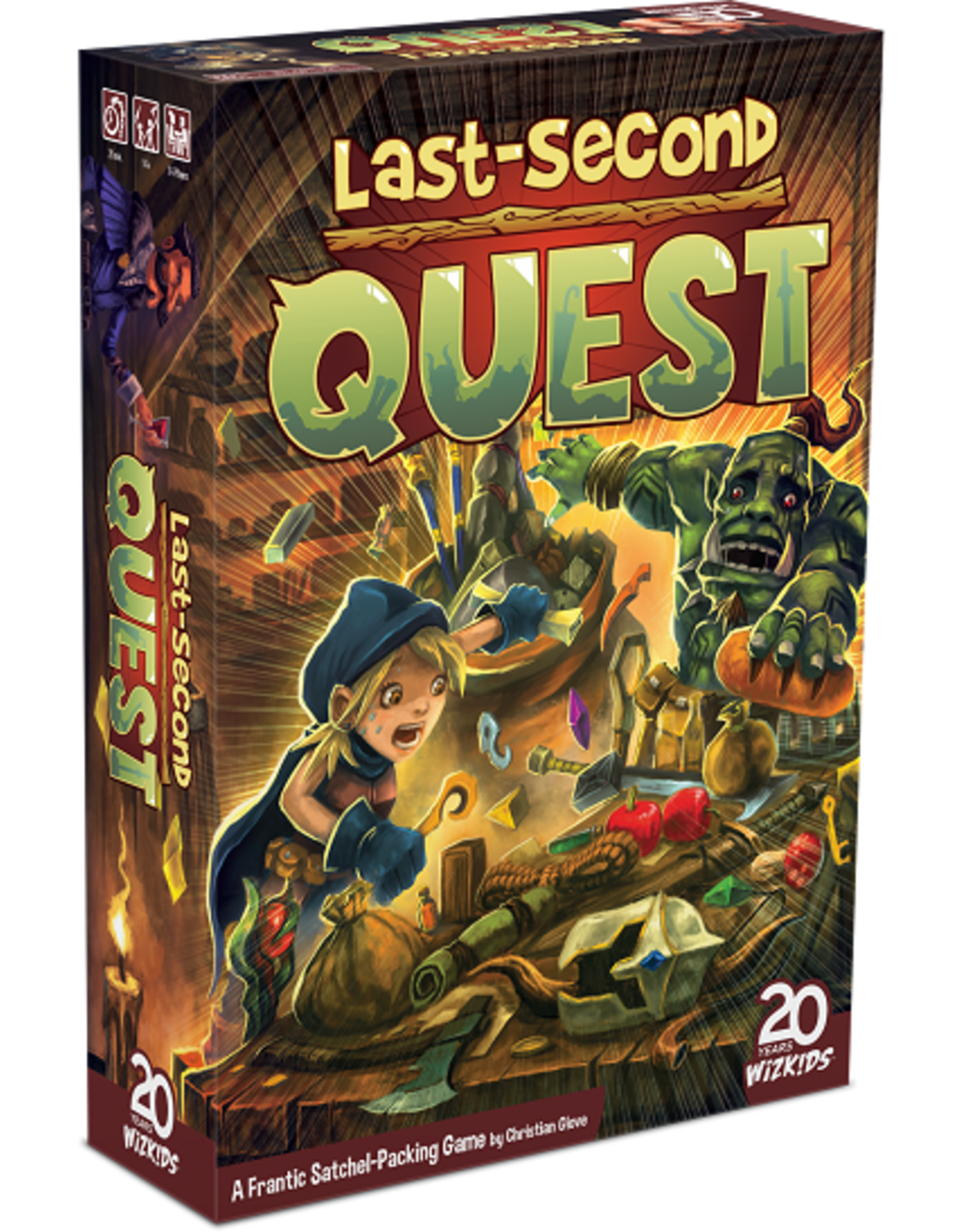 Last-Second Quest Game