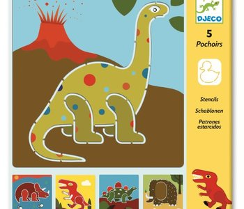 Dinosaur Stencils Set