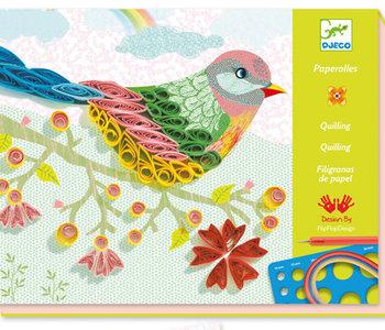 Spiral Seasons Paper Quilling Kit