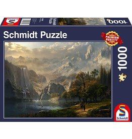 Schmidt Pastoral Waterfall 1000pc Puzzle