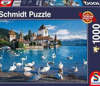 Lakeshore Swans 1000pc Puzzle