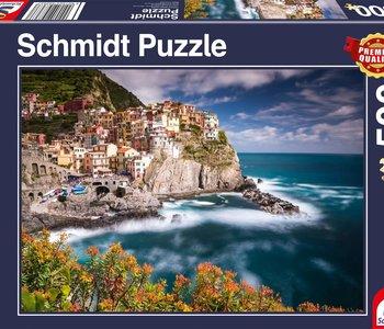 Manorola Cinque Terre, Italy 500pc Puzzle