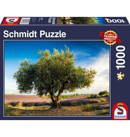 Schmidt Olive Tree in Provence 1000pc Puzzle