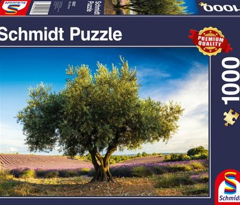 Olive Tree in Provence 1000pc Puzzle