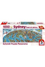 Schmidt Sidney 1000pc Panorama Puzzle
