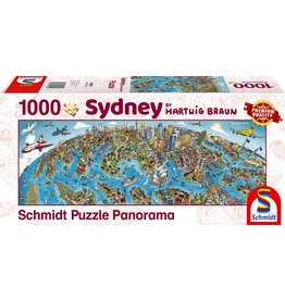 Schmidt Sidney 1000pc Panorama Puzzle
