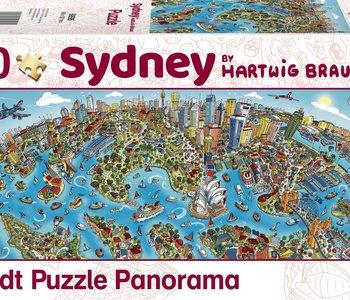 Sidney 1000pc Panorama Puzzle