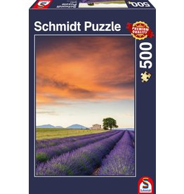 Schmidt Field of Lavender, Provence 500pc Puzzle