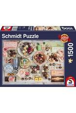 Schmidt Nostalgic Chocolates 1500pc Puzzle