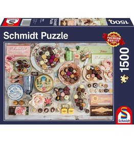 Schmidt Nostalgic Chocolates 1500pc Puzzle