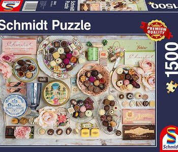 Nostalgic Chocolates 1500pc Puzzle