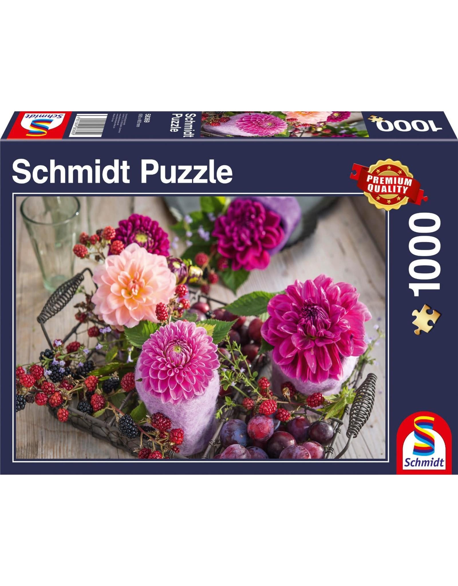 Schmidt Berries & Flowers 1000pc Puzzle