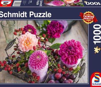 Berries & Flowers 1000pc Puzzle