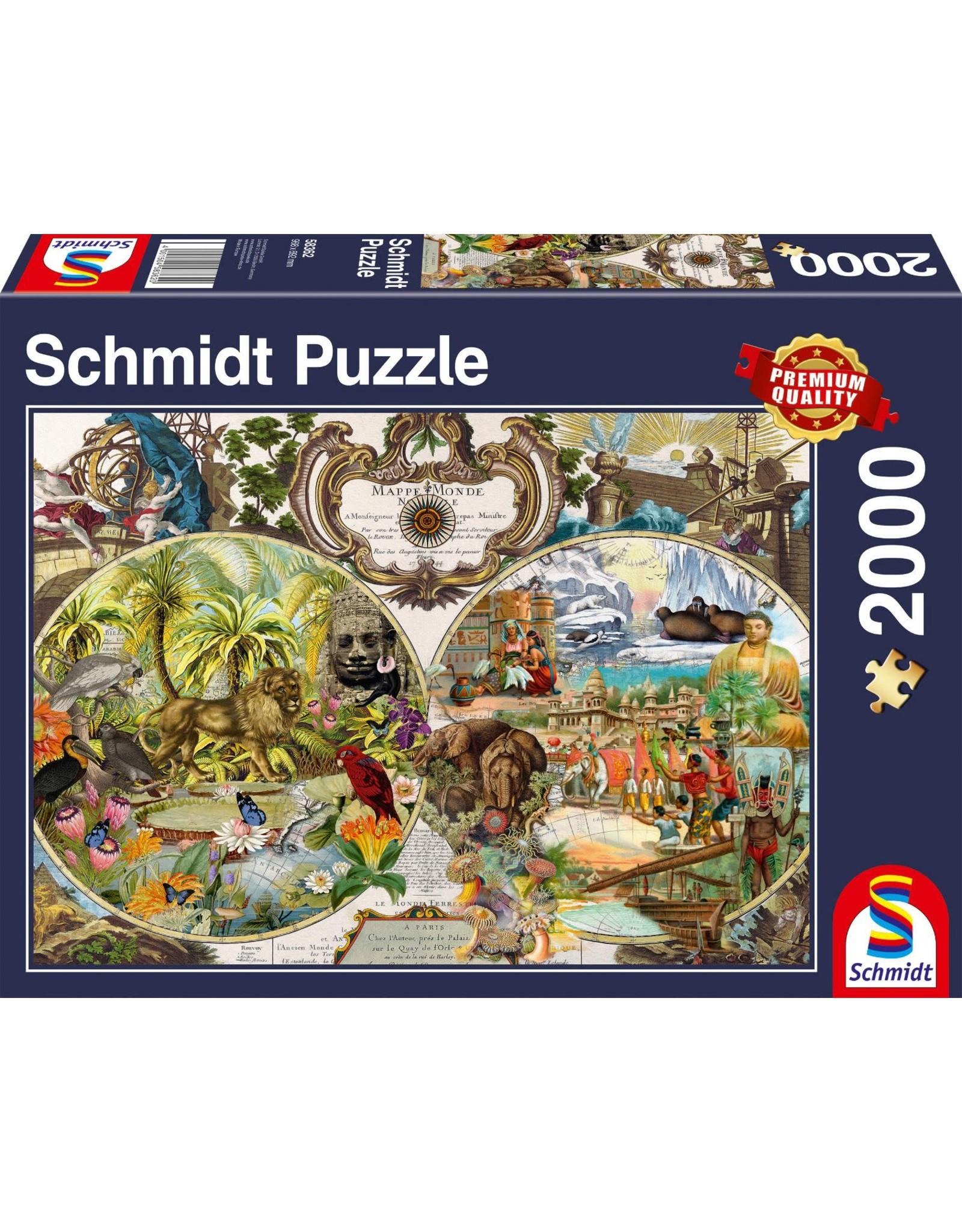 Schmidt Exotic World 2000pc Puzzle