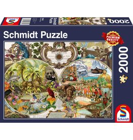 Schmidt Exotic World 2000pc Puzzle