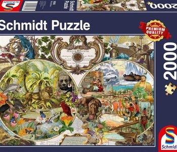 Exotic World 2000pc Puzzle