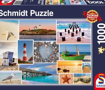 By The Sea 1000pc Puzzle