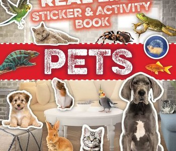 Pets Real Life Sticker & Activity Book