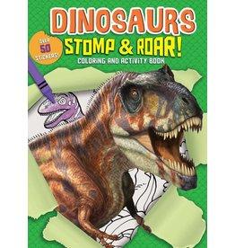 Silver Dolphin Dinosaurs Stomp & Roar! Activity Book