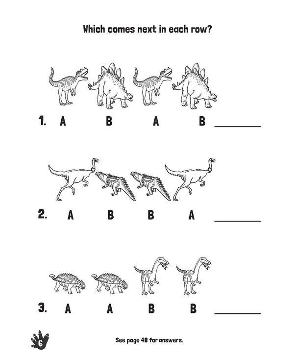 Dinosaurs Stomp & Roar! Activity Book