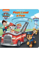 Paw Patrol Pups Lend a Paw Board Book
