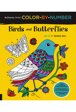 Colour-By-Number Birds & Butterflies