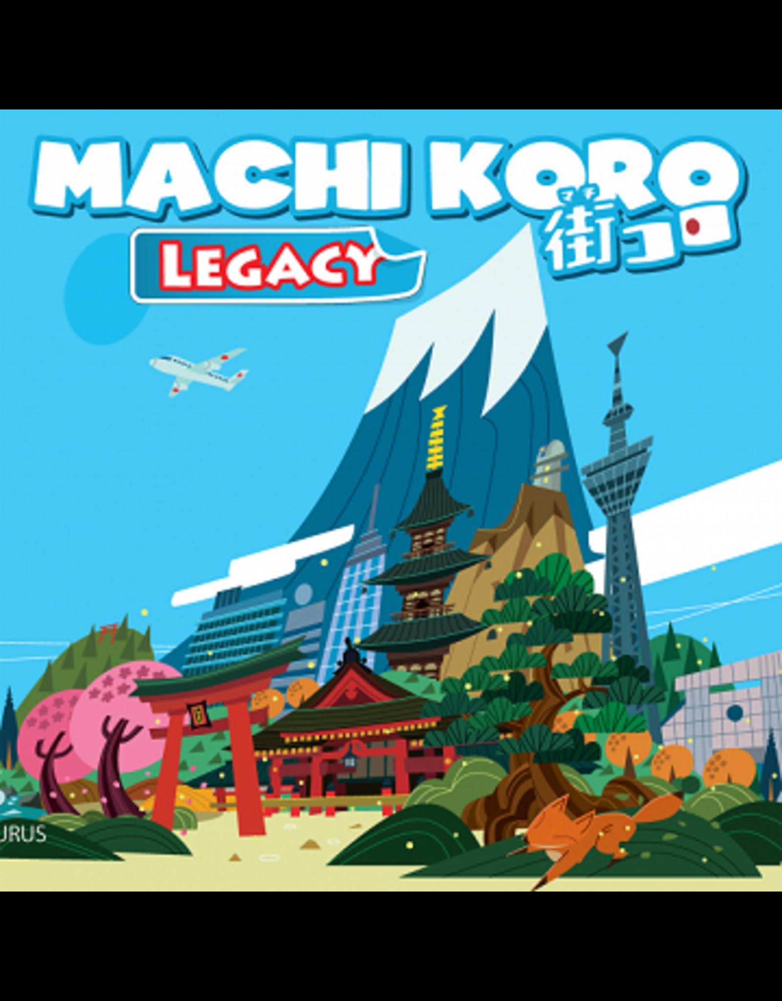 Pandasaurus Machi Koro Legacy Game