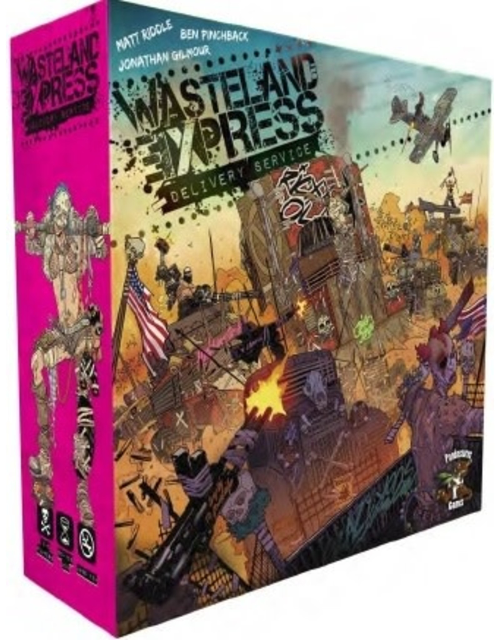 Wasteland Express Delivery Service Game