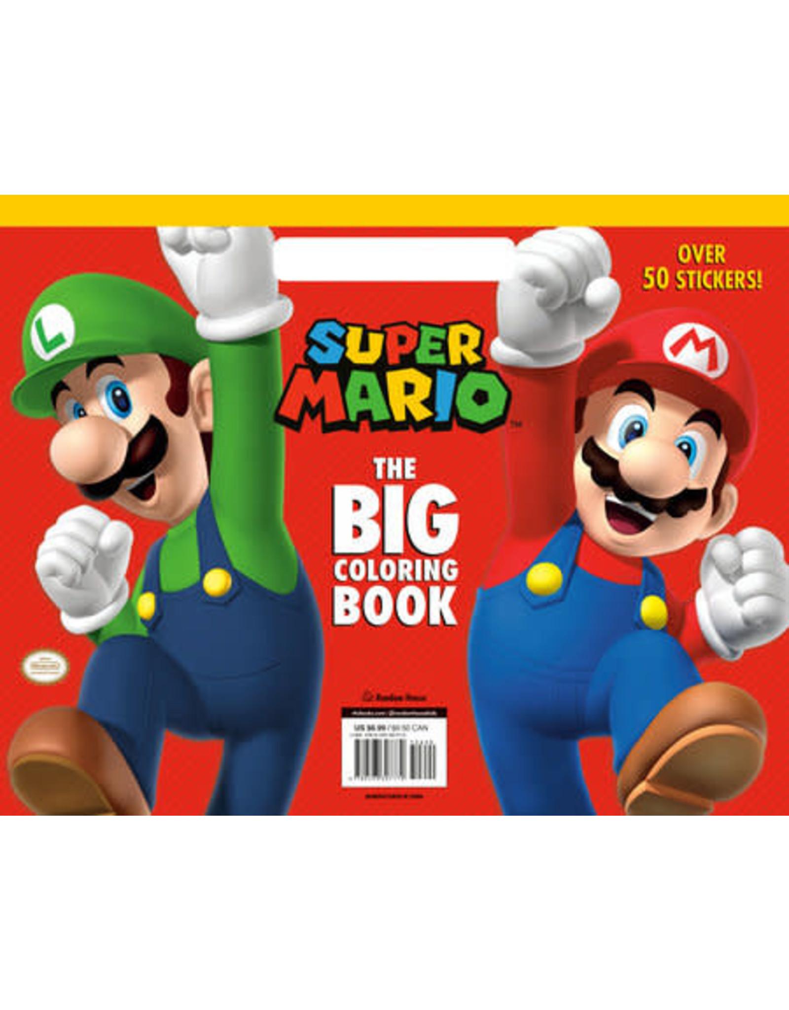 Super Mario: The Big Coloring Book