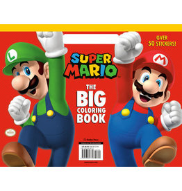 Random House Super Mario: The Big Coloring Book