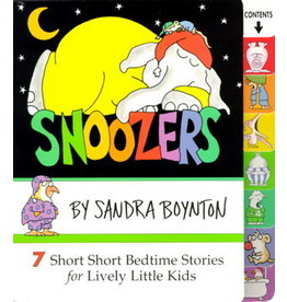 Snoozers Board Book by Sandra Boynton