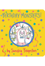 Birthday Monsters! Board Book by Sandra Boynton