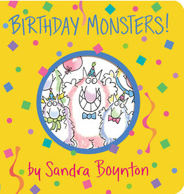 Birthday Monsters! Board Book by Sandra Boynton