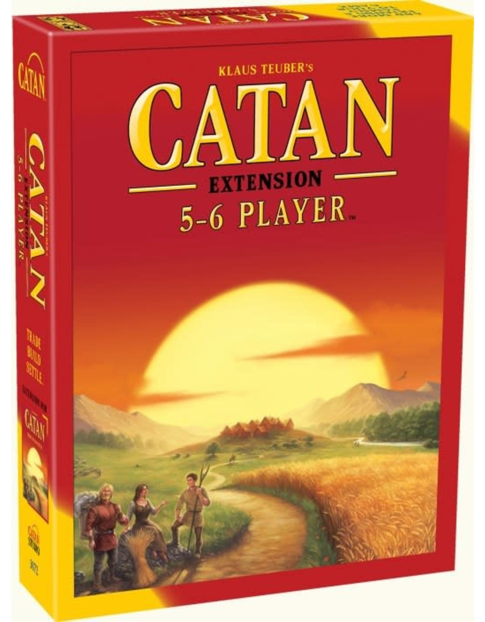 CATAN Settlers of Catan 5 & 6 Player Expansion