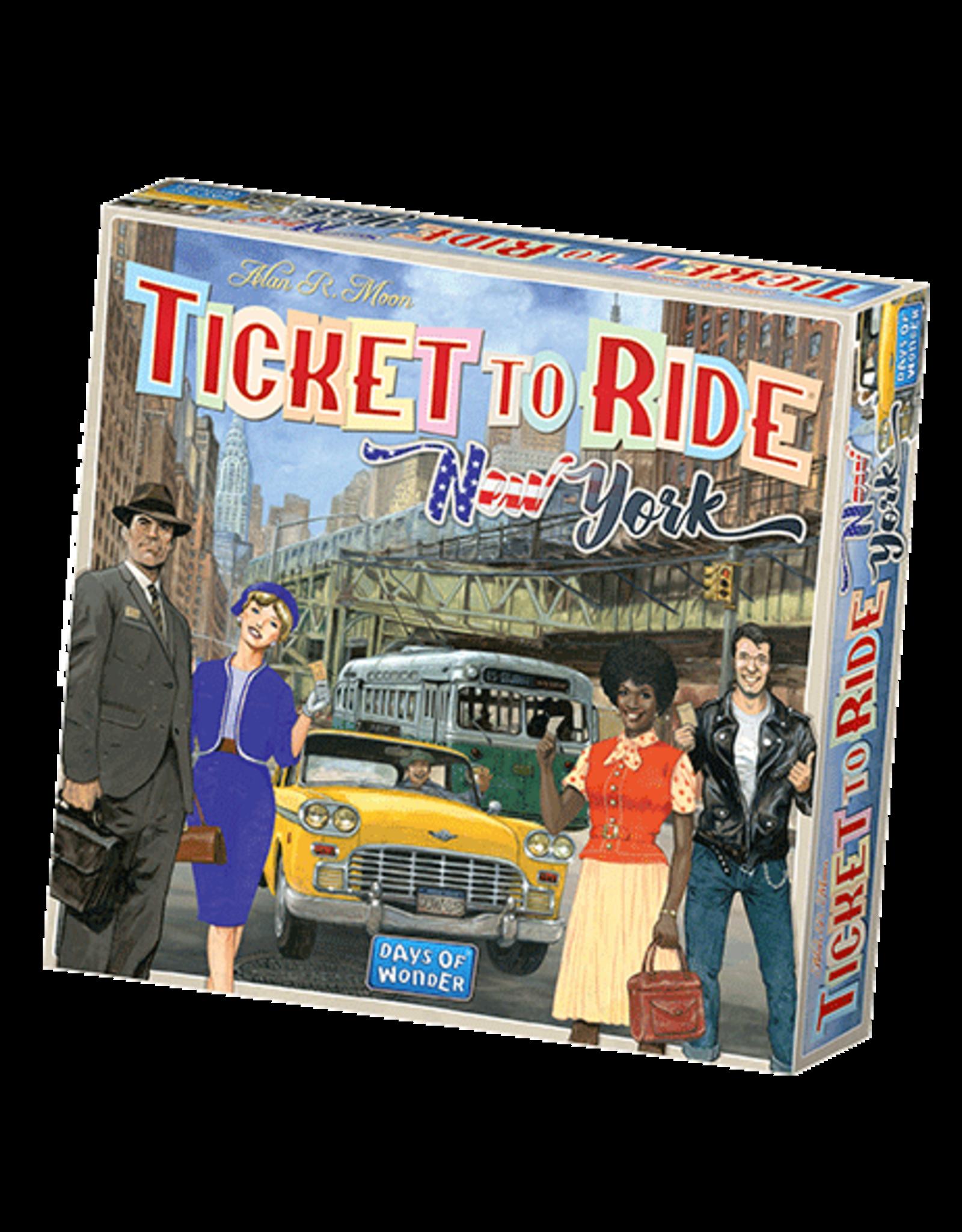 Days of Wonder Ticket To Ride New York 1960