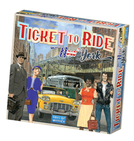 Days of Wonder Ticket To Ride New York 1960