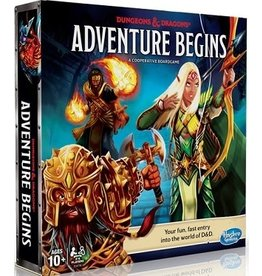 Dungeons & Dragons Adventure Begins Cooperative Game
