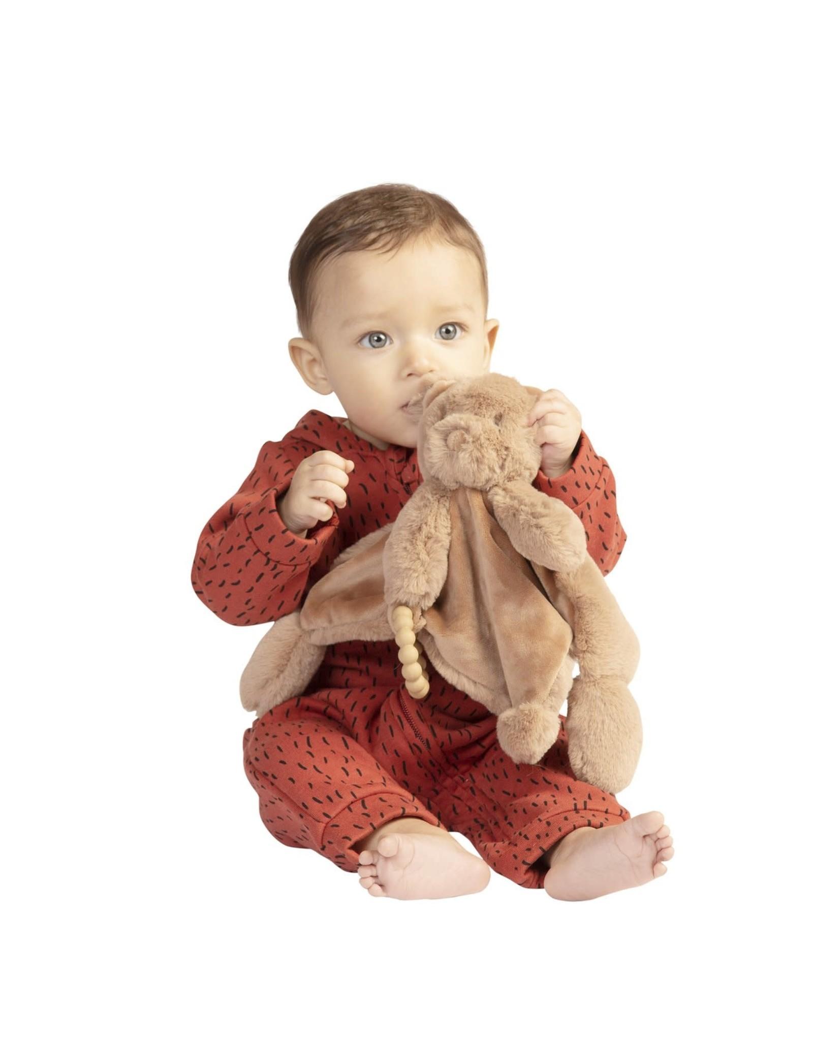 Manhattan Toy Sleepy Time Bear Soft Blankie