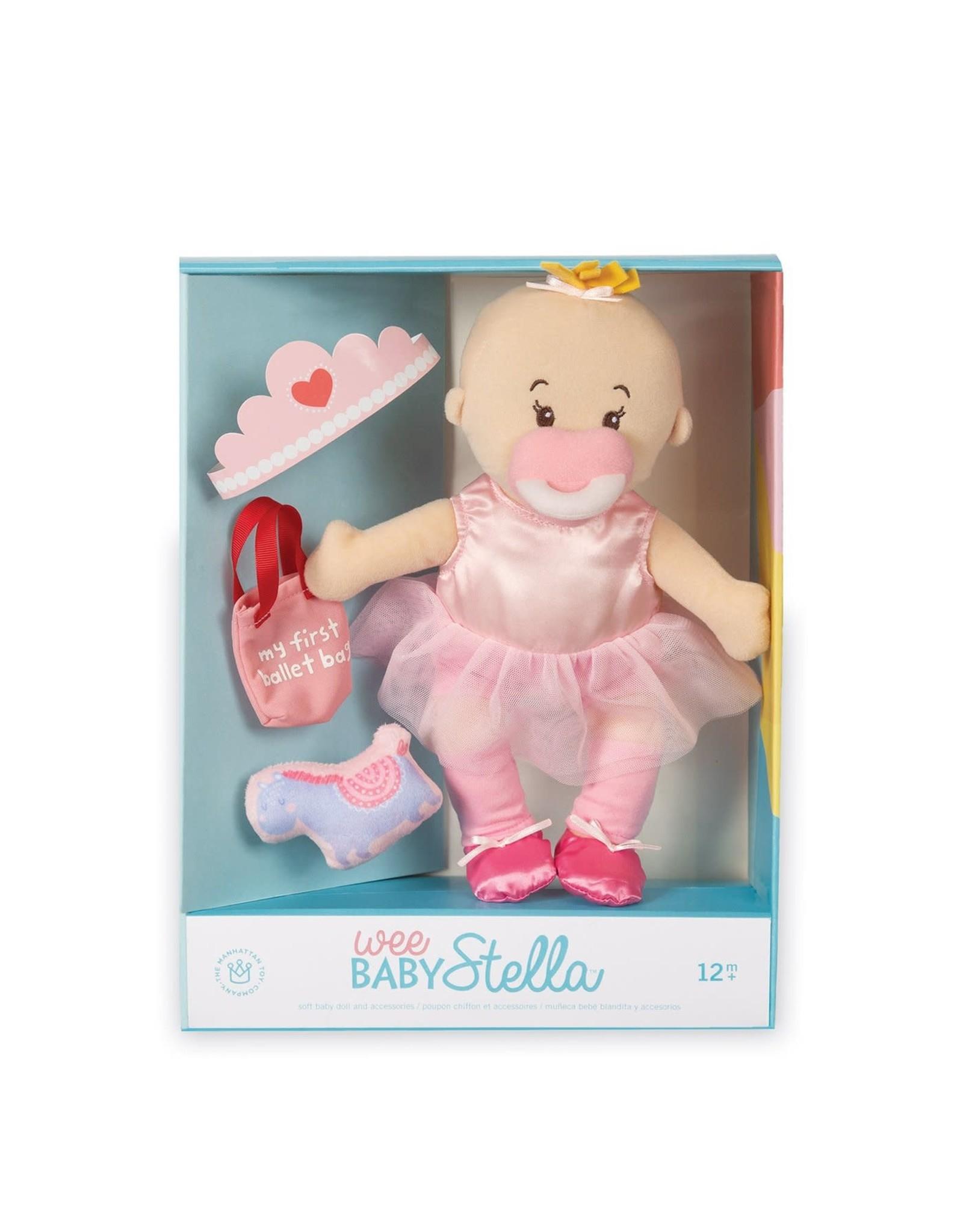 Manhattan Toy Wee Baby Stella Tiny Ballerina Set
