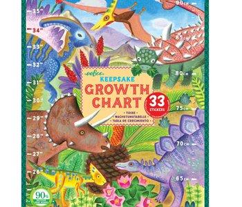 Grow Like a Dino Growth Chart