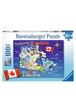Ravensburger Map of Canada 100pc Puzzle